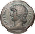 Ancients:Roman Provincial , Ancients: EGYPT. Alexandria. Antinoüs, favorite of Hadrian (died AD 130). Æ drachm (34mm, 23.10 gm, 12h)....