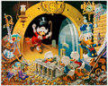 Memorabilia:Disney, Cark Barks Hands Off My Playthings Signed Limited Edition Lithograph Print #215/345 (Another Rainbow, 1997). ... (Total: 2 Items)