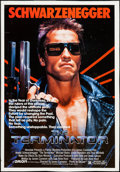 "Movie Posters:Science Fiction, The Terminator (Orion, 1984). Half Subway (31.75"" X 46""). ScienceFiction.. ..."