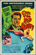 "Movie Posters:Mystery, The Case of the Red Monkey & Other Lot (Allied Artists, 1955).One Sheets (2) (27"" X 41""). Mystery.. ... (Total: 2 Items)"