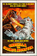 "Movie Posters:Science Fiction, Godzilla vs. Mechagodzilla (Downtown Distribution Co., R-1978). OneSheet (27"" X 41""). Science Fiction. Re-Release Title: ..."