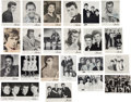 Music Memorabilia:Memorabilia, Beatles - A Group of 22 Artist Cards from the Star-Club, IncludingSignatures by Bill Haley and Others (Germany, 1960s)....