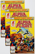 Modern Age (1980-Present):Superhero, Alpha Flight Box Lot (Marvel, 1983-86) Condition: Average VF....(Total: 2 Box Lots)