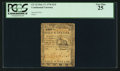 Colonial Notes:Continental Congress Issues, Continental Currency February 17, 1776 $1/2 PCGS Very Fine 25.. ...