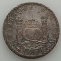 Mexico, Mexico: Charles III Pillar Dollar of 8 Reales 1771 Mo-FM AU -Cleaned,...