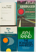 Books:Literature 1900-up, Ayn Rand. Group of Four. Various publishers and dates.... (Total: 4 Items)
