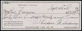 Baseball Collectibles:Others, 1985 Ted Williams Signed Check. ...