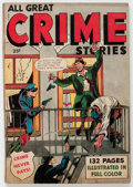 Golden Age (1938-1955):Crime, Fox Giants All Great Crime Stories #nn (Fox Features Syndicate, 1949) Condition: VG....