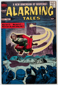 Silver Age (1956-1969):Mystery, Alarming Tales #1 (Harvey, 1957) Condition: VF....
