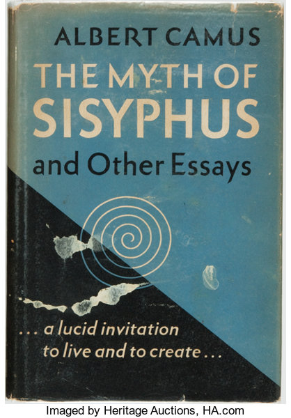 Albert Camus The Myth Of Sisyphus And Other Essays New York  Lot  Booksnonfiction Albert Camus The Myth Of Sisyphus And Other Essays