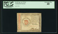 Colonial Notes:Continental Congress Issues, Continental Currency January 14, 1779 $1 PCGS Extremely Fine 40.....