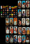 Basketball Cards:Lots, 1971 Topps Trio Basketball Near Set (18)....