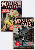 Golden Age (1938-1955):Horror, Mystery Tales #42 and 52 Group (Atlas, 1956-57) Condition: AverageVG-.... (Total: 2 Comic Books)