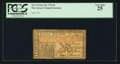 Colonial Notes:New Jersey, New Jersey February 20, 1776 £3 PCGS Very Fine 25.. ...