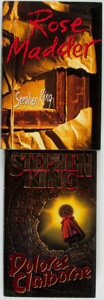 Books:Horror & Supernatural, Stephen King. Pair of Titles. New York: Viking, [1993 and 1995]....(Total: 2 Items)