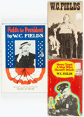 Books:Biography & Memoir, W. C. Fields. Group of Three Books. Various publishers and dates.... (Total: 3 Items)
