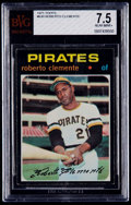 Baseball Cards:Singles (1970-Now), 1971 Topps Roberto Clemente #630 BVG NM+ 7.5....