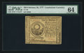Colonial Notes:Continental Congress Issues, Continental Currency February 26, 1777 $30 PMG Choice Uncirculated64.. ...