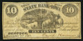 Obsoletes By State:Iowa, Dubuque, IA- Smith & Cannon at Dubuque Branch of the State Bankof Iowa 10¢ Dec. 1, 1862 . ...