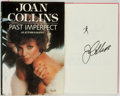 Books:Biography & Memoir, Joan Collins. SIGNED. Past Imperfect: An Autobiography. NewYork: Simon and Schuster, [1984]....
