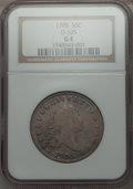 Early Half Dollars, 1795 50C 2 Leaves, O-105, T-25, High R.3, Good 4 NGC. NGC Census:(2/18). PCGS Population (0/9). ...