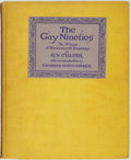 Books:Art & Architecture, [Cartoons]. R. V. Culter. The Gay Nineties: An Album of Reminiscent Drawings. Introduction by Charles Dana Gibson. G...