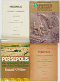 Books:World History, [Persepolis]. Group of Four Books on Persepolis. Various publishers and dates. ... (Total: 4 Items)