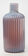 Art Glass:Other , Ermanno Toso (Italian, 1903-1973). Ribbed Vase, circa 1950,Fratelli Toso. Cased opalescent glass. 16 inches high (40.6 ...