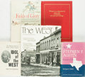 Books:Americana & American History, [Old West]. Group of Five Books. Various publishers and dates. ...(Total: 5 Items)