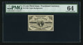 Fr. 1226 3¢ Third Issue PMG Choice Uncirculated 64