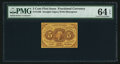 Fractional Currency:First Issue, Fr. 1230 5¢ First Issue PMG Choice Uncirculated 64 EPQ.. ...