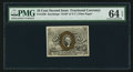 Fractional Currency:Second Issue, Fr. 1249 10¢ Second Issue PMG Choice Uncirculated 64 EPQ.. ...