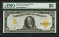 Large Size:Gold Certificates, Fr. 1172 $10 1907 Gold Certificate PMG Choice Very Fine 35.. ...