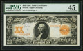 Large Size:Gold Certificates, Fr. 1183 $20 1906 Gold Certificate PMG Choice Extremely Fine 45.....