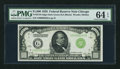 Small Size:Federal Reserve Notes, Fr. 2210-G $1,000 1928 Federal Reserve Note. PMG Choice Uncirculated 64 EPQ.. ...