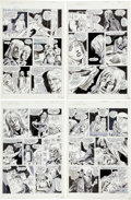 Original Comic Art:Panel Pages, Bob Brown, Frank Chiaramonte and Pablo Marcos Dracula Lives #11 Page Original Art Group of 4 (Marvel, 1975). ... (Total: 4 Original Art)