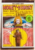 "Memorabilia:Comic-Related, EC War Against Crime #6 ""Money Hungry"" Complete Story Silverprint Proof Group (EC, 1949).. ... (Total: 9 Items)"