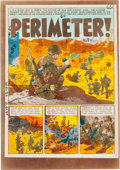 "Memorabilia:Comic-Related, EC Frontline Combat #15 ""Perimeter!"" Complete Story Silverprint Proof Group (EC, 1954).. ... (Total: 8 Items)"