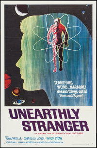 "Unearthly Stranger (American International, 1963). One Sheet (27"" X 41""). Science Fiction"