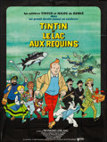 "Movie Posters:Animation, Tintin and the Lake of Sharks (United Artists, 1972). French Grande (45.25"" X 60""). Animation.. ..."