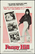 """Movie Posters:Sexploitation, Fanny Hill & Other Lot (Cinemation Industries, 1969). OneSheets (2) (27"""" X 41""""). Sexploitation.. ... (Total: 2 Items)"""
