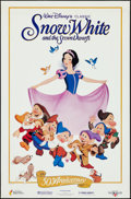 """Movie Posters:Animation, Snow White and the Seven Dwarfs (McDonalds, 1987). 50th AnniversaryExclusive Posters (2) (23"""" X 35"""") 2 Styles. Animation.. ... (Total:2 Items)"""