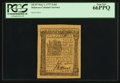 Colonial Notes:Delaware, Delaware May 1, 1777 2s/6d PCGS Gem New 66PPQ.. ...
