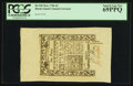 Colonial Notes:Rhode Island, Rhode Island May 1786 6d PCGS Superb Gem New 69PPQ.. ...