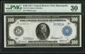 Large Size:Federal Reserve Notes, Fr. 1116 $100 1914 Federal Reserve Note PMG Very Fine 30.. ...