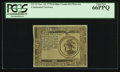 Colonial Notes:Continental Congress Issues, Continental Currency November 29, 1775 Blue Counterfeit Detector $3 PCGS Gem New 66PPQ.. ...