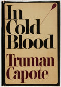 Books:Literature 1900-up, [Featured Lot]. Truman Capote. SIGNED. In Cold Blood. NewYork: Random House, [1965]. ...