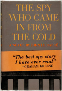 [Featured Lot]. John Le Carré. SIGNED. The Spy Who Came in from the Cold. New York: