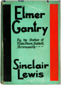 Books:Literature 1900-up, [Featured Lot]. Sinclair Lewis. Elmer Gantry. New York:Harcourt, Brace and Company, [1927]. ...