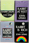 Books:Literature 1900-up, [Featured Lot]. John Updike. Rabbit Cycle. New York: Alfred A. Knopf, 1960-1990. ... (Total: 4 Items)